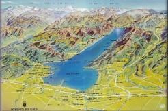 mappa lago di garda